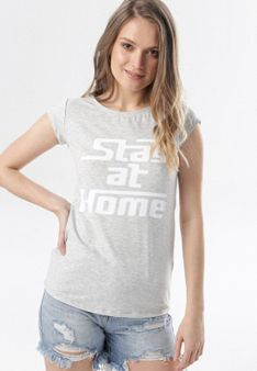 Szary T-shirt Noelori