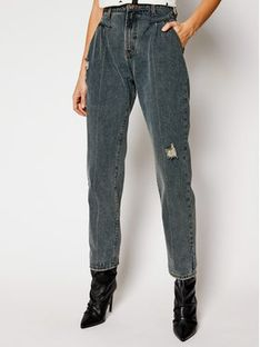 One Teaspoon Jeansy Relaxed Fit St Walkers 23923 Granatowy Relaxed Fit