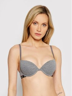 Emporio Armani Underwear Biustonosz push-up 162394 9A225 06749 Szary