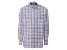 NOBELLEAGUE® Koszula biznesowa męska w kratkę