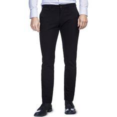 Spodnie męskie Giacomo Conti czarny