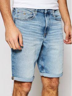 Calvin Klein Jeans Szorty jeansowe J30J317745 Niebieski Regular Fit