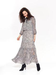 Sukienka damska w panterkę
