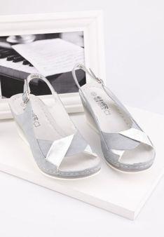 Sandały szare 3 Robyn