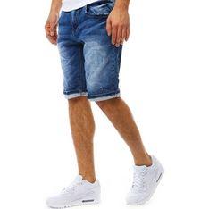 Spodenki męskie Dstreet jeansowe gładkie