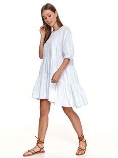 Letnia sukienka o luźnym fasonie