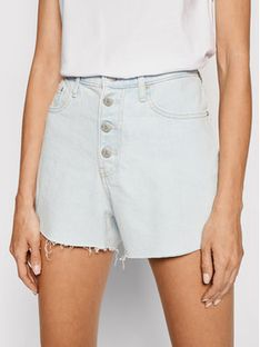 Calvin Klein Jeans Szorty jeansowe J20J215898 Niebieski Regular Fit