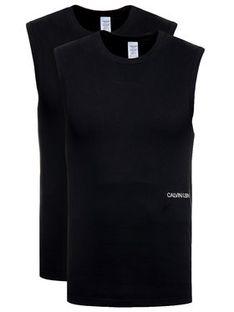 Calvin Klein Underwear Komplet 2 topów 000QS6199E Czarny Regular Fit