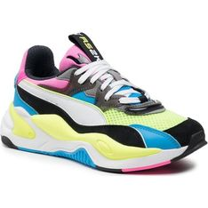 Buty sportowe damskie Puma sneakersy wielokolorowe