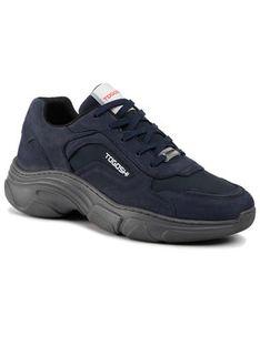 Togoshi Sneakersy TG-12-03-000096 Granatowy