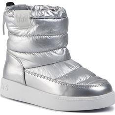 Buty zimowe dziecięce Pepe Jeans kozaki wiązane