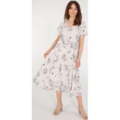 Sukienka Unisono w kwiaty