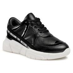 Sneakersy LOVE MOSCHINO - JA15323G1CIU200A Ner/Mix