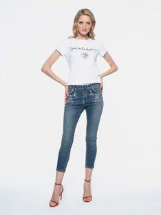 Jeansy z kryształkami L`AF LARA
