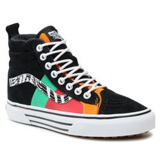 Sneakersy VANS - Sk8-Hi 46 Mte Dx VN0A3DQ523E1 Zebra/True White
