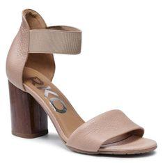 Sandały RYŁKO - 9HDA7_B3 Beżowy 8NY