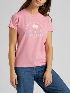 "Lee ""Graphic Tee"" La Pink"