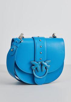 Pinko - Torba na ramię - niebieski