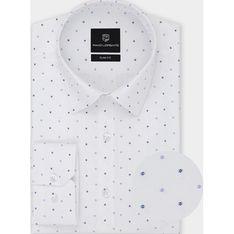 Koszula męska Pako Lorente z tkaniny z klasycznym kołnierzykiem w abstrakcyjne wzory młodzieżowa