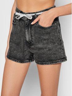 Calvin Klein Jeans Szorty jeansowe J20J216307 Szary Regular Fit