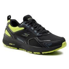 Buty SKECHERS - Go Run Consistent 220081/BKLM Black/Lime