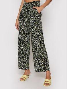 Tommy Jeans Spodnie materiałowe Tjw Hr Fluid DW0DW09744 Czarny Regular Fit