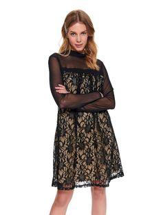 Sukienka z koronkową wstawką