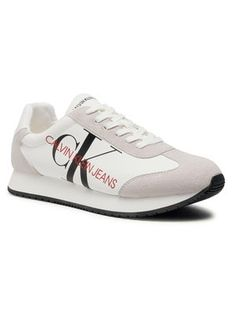 Calvin Klein Jeans Sneakersy Joele B4S0716 Biały