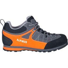 Buty trekkingowe Alpinus The Ridge Low Pro GR43298 czarne pomarańczowe szare