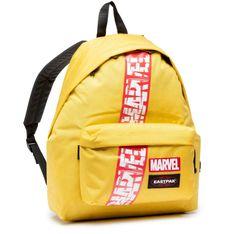Plecak EASTPAK - Padded Pak'r EK000620 Marvel Yellow N13