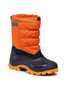 CMP Śniegowce Kids Hanki 2.0 30Q4704J Pomarańczowy