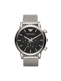 Emporio Armani Zegarek Luigi AR1808 Srebrny