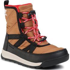 Buty zimowe dziecięce śniegowce wiązane