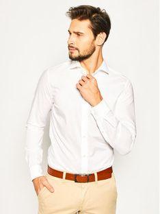 Strellson Koszula Sereno 30020157 Biały Slim Fit