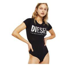 DIESEL 00SHMI 0WAWG UFBY-BODYTEE TOP AND BODY Women BLACK