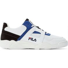 Buty sportowe męskie Fila białe sznurowane skórzane