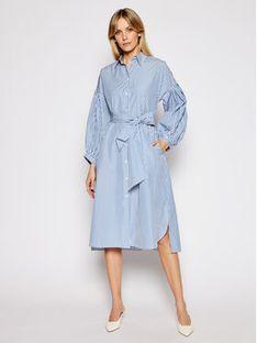 Weekend Max Mara Sukienka koszulowa Ragazza 52210311 Niebieski Regular Fit