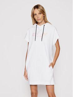 DKNY Sport Sukienka dzianinowa DP1D4455 Biały Regular Fit