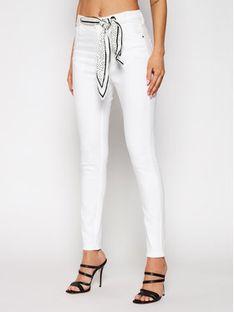 Guess Jeansy W1GA36 D4DN1 Biały Super Skinny Fit