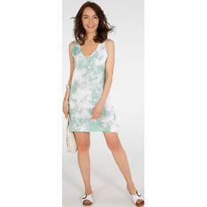 Sukienka Unisono na ramiączkach w serek mini