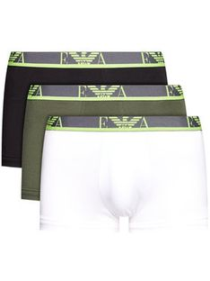 Emporio Armani Underwear Komplet 3 par bokserek 111357 1P715 10281 Kolorowy