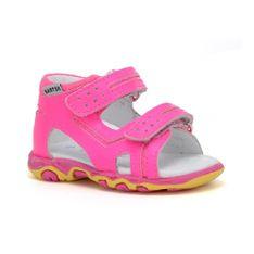 Sandały Bartek W-71825/npf, Dla Dziewcząt, Różowy