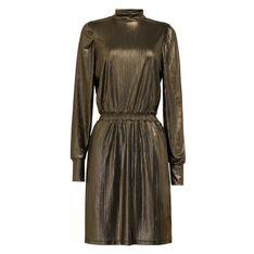 Sukienka z efektem metalicznym