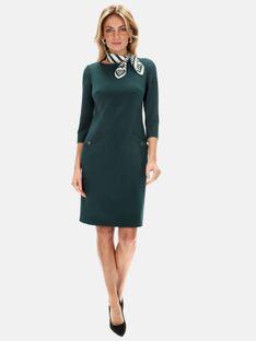 Dopasowana sukienka z ozdobnymi szwami i kieszeniami L`AF GLOW