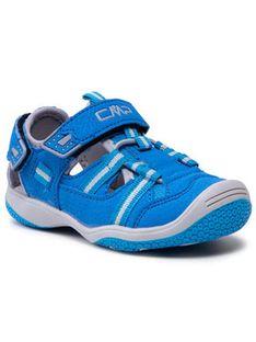 CMP Sandały Baby Naboo Hiking Sandal 30Q9552 Niebieski