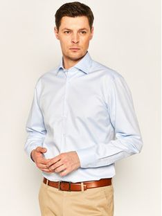 Stenströms Koszula 602771 1467 Niebieski Slim Fit