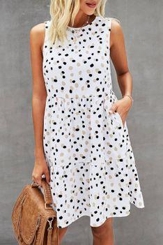 Sukienka MORSELA WHITE