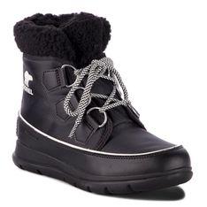 Śniegowce SOREL - Explorer Carnival NL3040 Black/Sea Salt 010