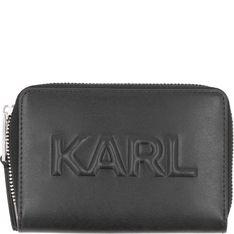 Karl Lagerfeld Skórzany portfel