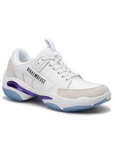 Bikkembergs Sneakersy Low Top Lace Up B4BKM0040 Biały